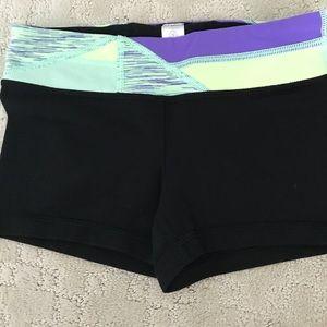 Ivivva size 10 reversible athletic shorts